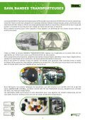 BANDES TRANSPORTEUSES - Savatech - Page 3
