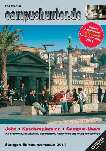 Ausgabe Stuttgart Sommersemester 2011 - campushunter.de