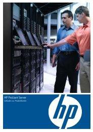 HP ProLiant Server Produktfamilie.pdf - alphaTrust.ch ag