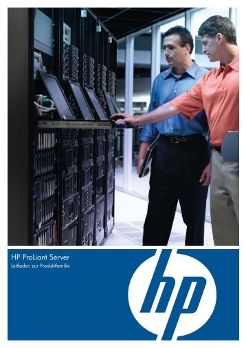 HP ProLiant Server Produktfamilie.pdf - alphaTrust.ch ag