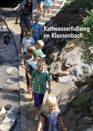 Kaltwasserfußweg im Klausenbach - Raumplanung Steiermark ...