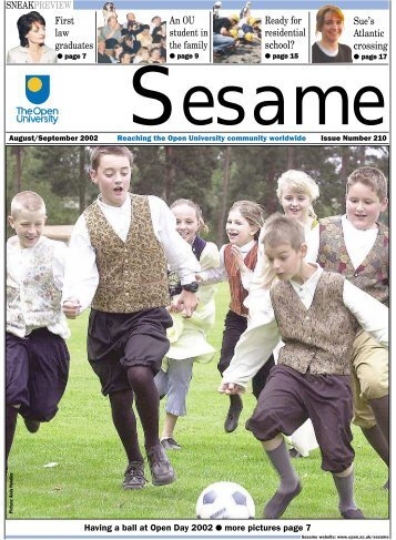 Sesame 210 online - The Open University