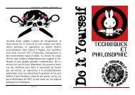 Brochure-Do it Yourself, techniques et philosophies - BBoyKonsian ...