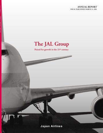 Annual Report 2001 - JAL | JAPAN AIRLINES