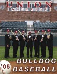 media guide (baseball).indd - Union University