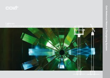 Colt Heliostat Natural Daylighting System - Bomin Solar