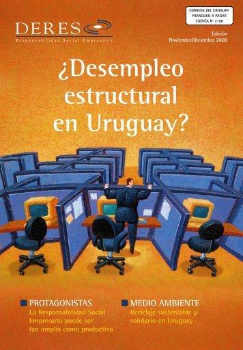 Â¿Desempleo estructural en Uruguay? - Deres
