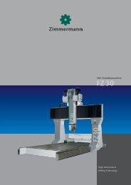 FZ30 - Portalfräsmaschinen - galika