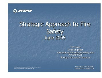 Strategic Approach to Fire Safety - ASASI