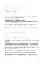 1 Statement Klaus-Peter Siegloch Präsident des ... - BDL