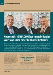 Heemsoth: »TRIACON hat Immobilien im Wert von über einer ...