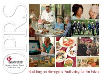 OPRS Annual Report - Ohio Presbyterian Retirement Services
