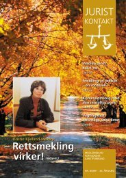 Juristkontakt 8 - 2001