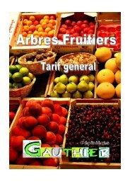 Tarif général fruitiers 2012/2013 - pepinieres-gauthier.fr