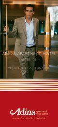 ADINA APARTMENT HOTEL BERLIN - Adina Apartment Hotels