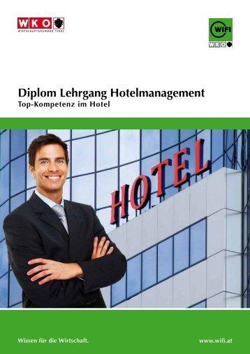 Diplom Lehrgang hotelmanagement