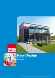 New Design - VARIO-BAU Fertighaus GesmbH