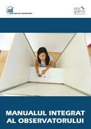 Manualul integrat al observatorului
