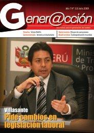 Pide cambios en legislación laboral Pide ... - Generaccion.com