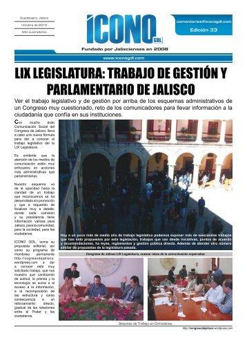 LIX LEGISLATURA: TRABAJO DE GESTIÓN Y PARLAMENTARIO ...