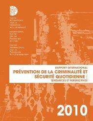prévention de la criminalité et sécurité quotidienne - International ...