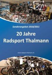 R EN N V ELO B M C 2010  - Radsport Thalmann