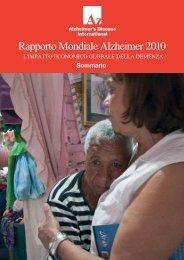 Rapporto Mondiale Alzheimer 2010 - Alzheimer Italia