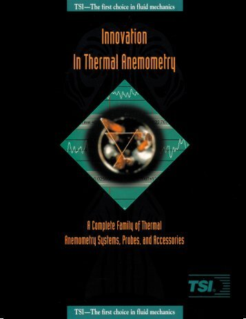 Innovation in Thermal Anemometry Brochure