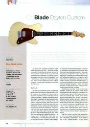 Blade llaylon Custom - FX-Music Group