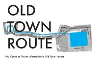 Download Old Town Route presentation in Adobe PDF format