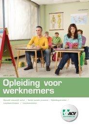 opl v werknemers 2012 - ACV Leuven