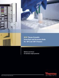 Thermo Scientific Forma Rack Systems Upright Freezers