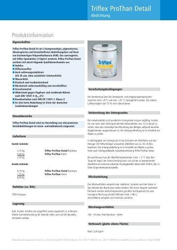 produktinformation triflex cryl rs 240. Black Bedroom Furniture Sets. Home Design Ideas
