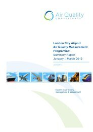 March 2012 - London City Airport Consultative Committee