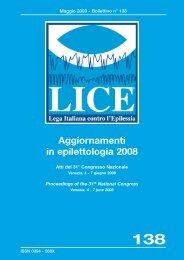 Bollettino n° 138 - Lice