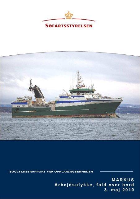 MARKUS endelig rapport - Søfartsstyrelsen
