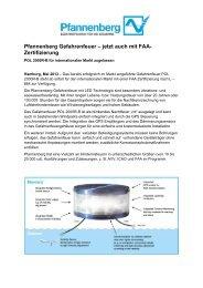 Pfannenberg Gefahrenfeuer – jetzt auch mit FAA ... - Wagner GmbH