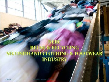 1 Council for Textile Recycling 4/8/2013 - NERC
