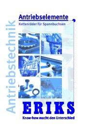 Kettenräder-für-Spannbuchsen - ERIKS