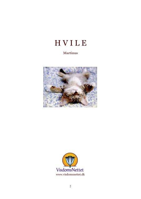 Download-fil: HVILE - Martinus - Visdomsnettet