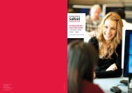 Undergraduate Open Day Guide 1 October 2011 10am – 4pm