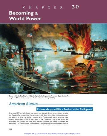 20 Becoming a World Power - WW-P High Schools