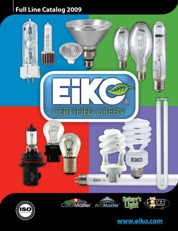 Full Line Catalog 2009 - Liberty Light Bulb