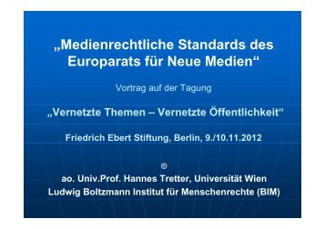 PPT Lecture by ao. Univ. Prof. Dr. Hannes Tretter [PDF] - Ludwig ...