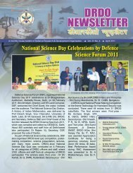 National Science Day Celebrations by Defence Science ... - DRDO