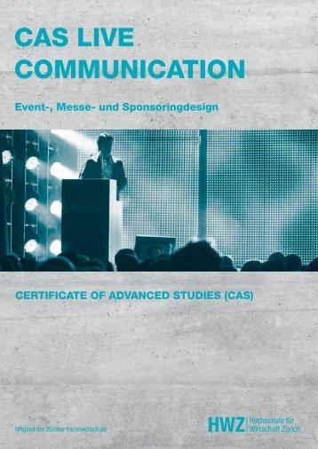 Cas live CommuniCation - expo >< event - live communication ...