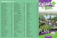 Cagnac-les-Mines 2013 - plan