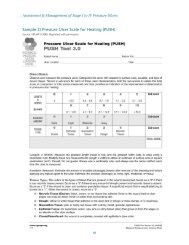 RNAO Pressure Ulcer Scale for Healing (PUSH)