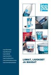 LIIMAT, LIUOKSET JA MASSAT - Taloon.com