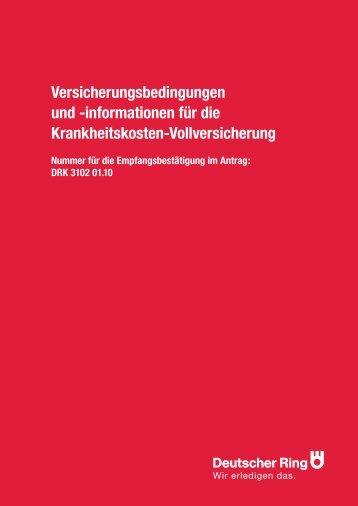 Versicherungsbedingungen und - Vorsorgekanzlei.de